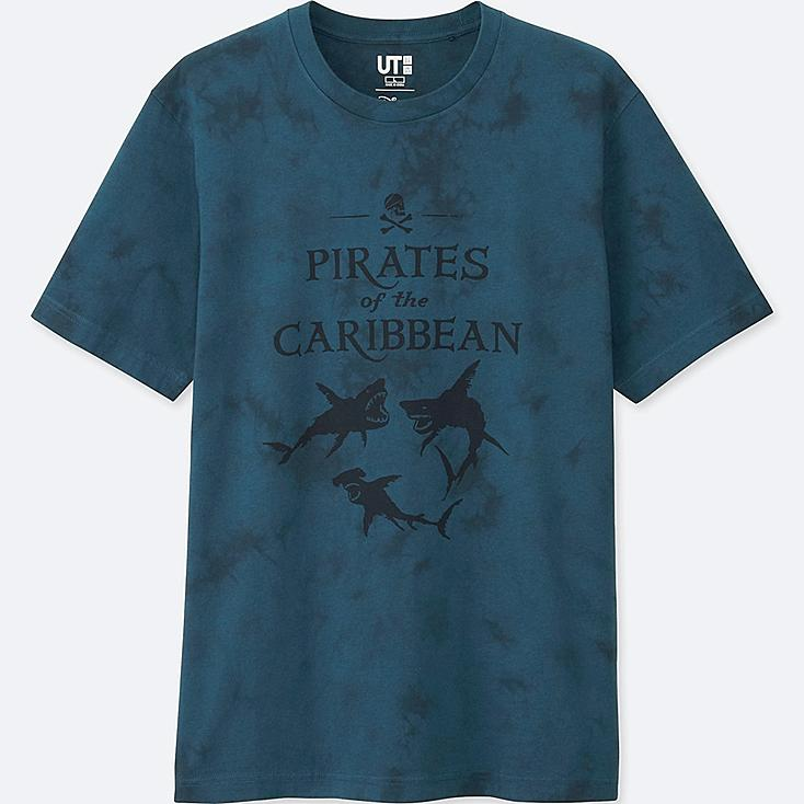 Pirates Of The Caribbean Graphic T-Shirt, GREEN, large
