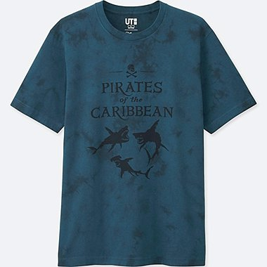 Pirates Of The Caribbean Graphic T-Shirt, GREEN, medium
