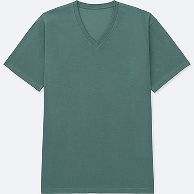 MEN PACKAGED DRY V NECK SHORT SLEEVE T-SHIRT
