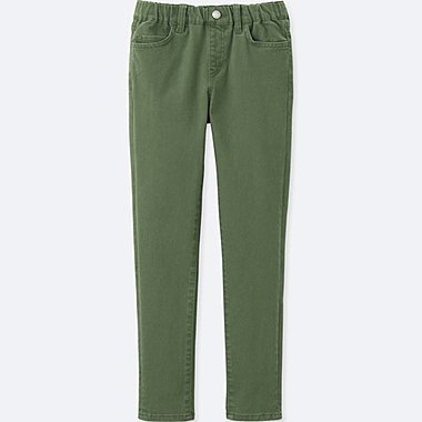 BOYS ULTRA STRETCH EASY PANTS, GREEN, medium