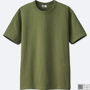 MEN UNIQLO U 100% cotton CREW NECK SHORT SLEEVE T-SHIRT
