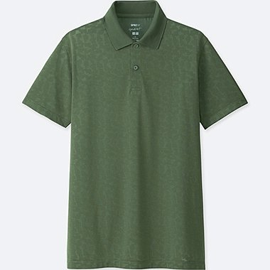 MEN SPRZ NY DRY-EX SHORT-SLEEVE POLO SHIRT (FRANCOIS MORELLET), GREEN, medium