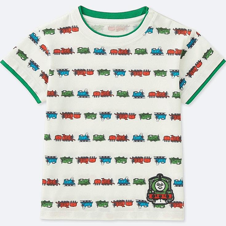 TODDLER THOMAS & FRIENDS SHORT-SLEEVE GRAPHIC T-SHIRT, GREEN, large