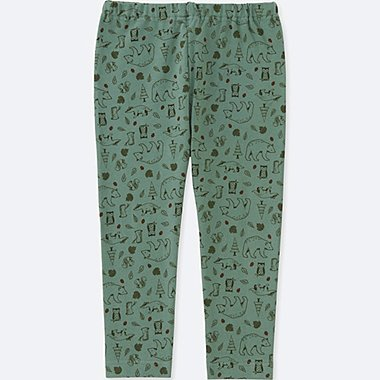 TODDLER LEGGINGS, GREEN, medium