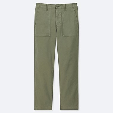 WOMEN BAKER PANTS, GREEN, medium