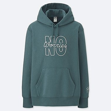 PIETER CEIZER GRAPHIC HOODED SWEATSHIRT, GREEN, medium