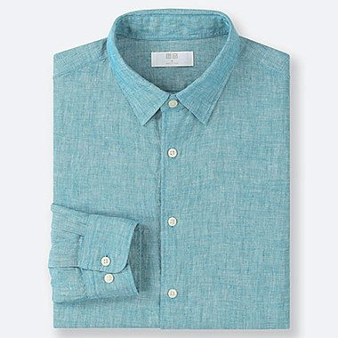 a0b4b81974a MEN PREMIUM LINEN SHIRT (REGULAR COLLAR)