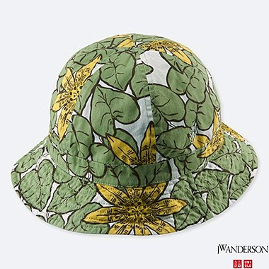 REVERSIBLE HAT (JW Anderson), GREEN, medium