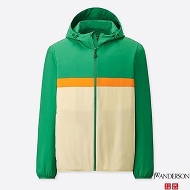 MEN POCKETABLE PARKA (JW Anderson), GREEN, medium