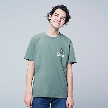 THE BRANDS Masterpiece SHORT-SLEEVE GRAPHIC T-SHIRT (VESPA), GREEN, medium