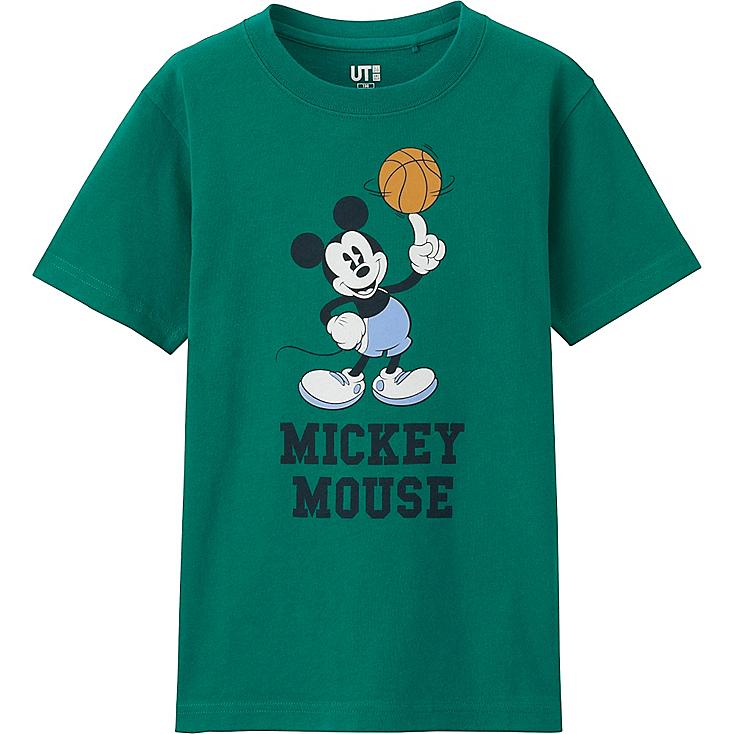 BOYS DISNEY COLLECTION SHORT SLEEVE GRAPHIC T-SHIRT, GREEN, large