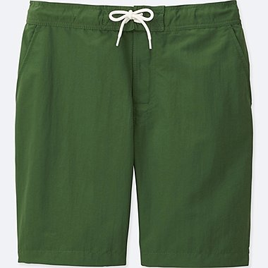 MEN SWIM ACTIVE SHORTS, GREEN, medium