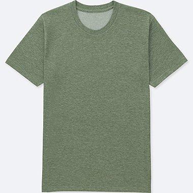 MEN PACKAGED DRY CREWNECK SHORT-SLEEVE T-SHIRT, GREEN, medium