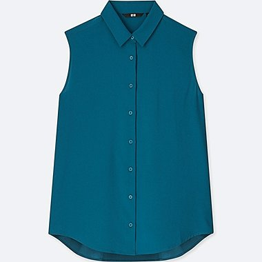 WOMEN RAYON SLEEVELESS BLOUSE
