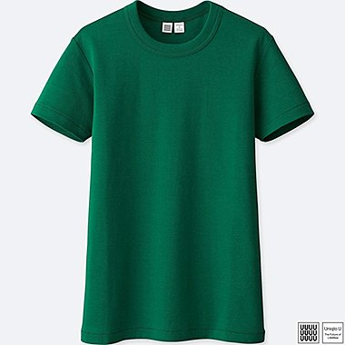 WOMEN UNIQLO U COTTON CREW NECK T-SHIRT