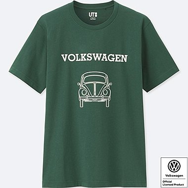 THE BRANDS SHORT-SLEEVE GRAPHIC T-SHIRT (VOLKSWAGEN), GREEN, medium