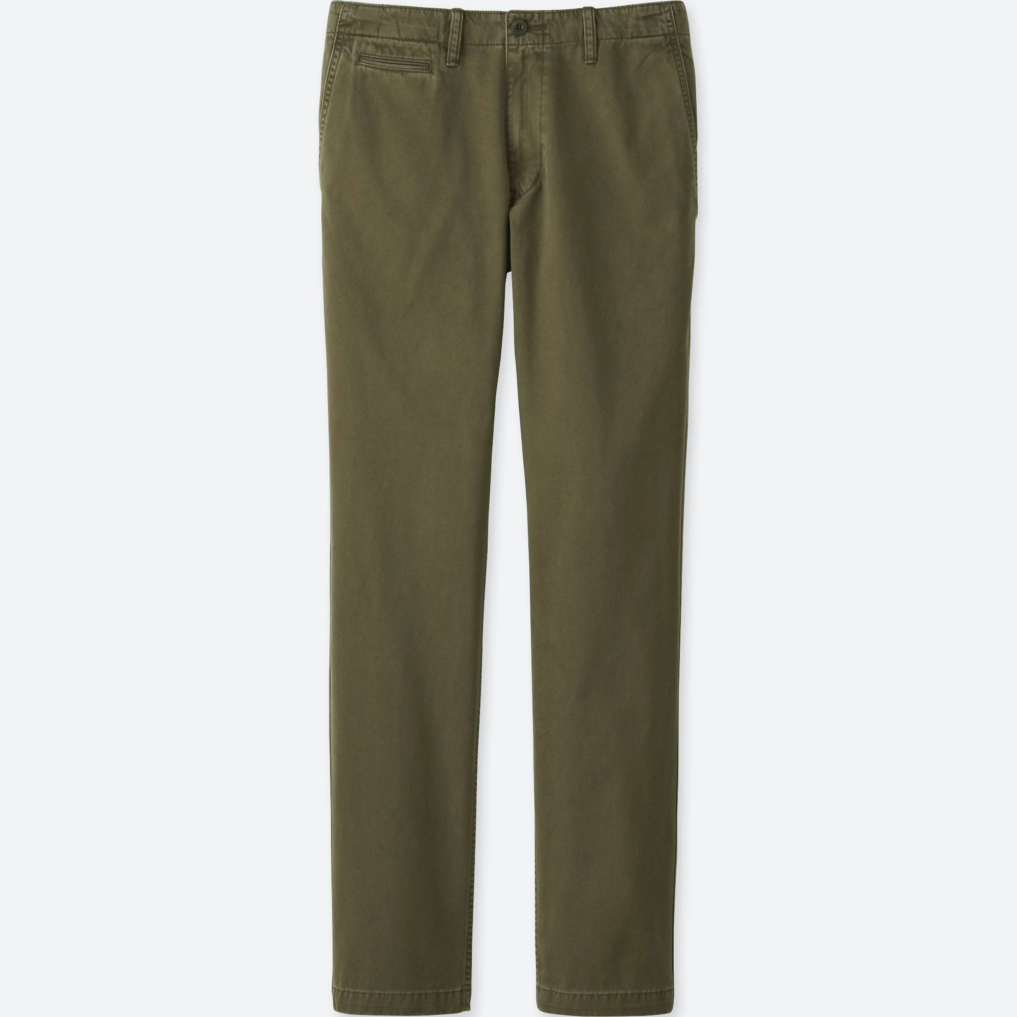 Uniqlo] In-store: Vintage Regular Fit Chino Flat Front Pants ...