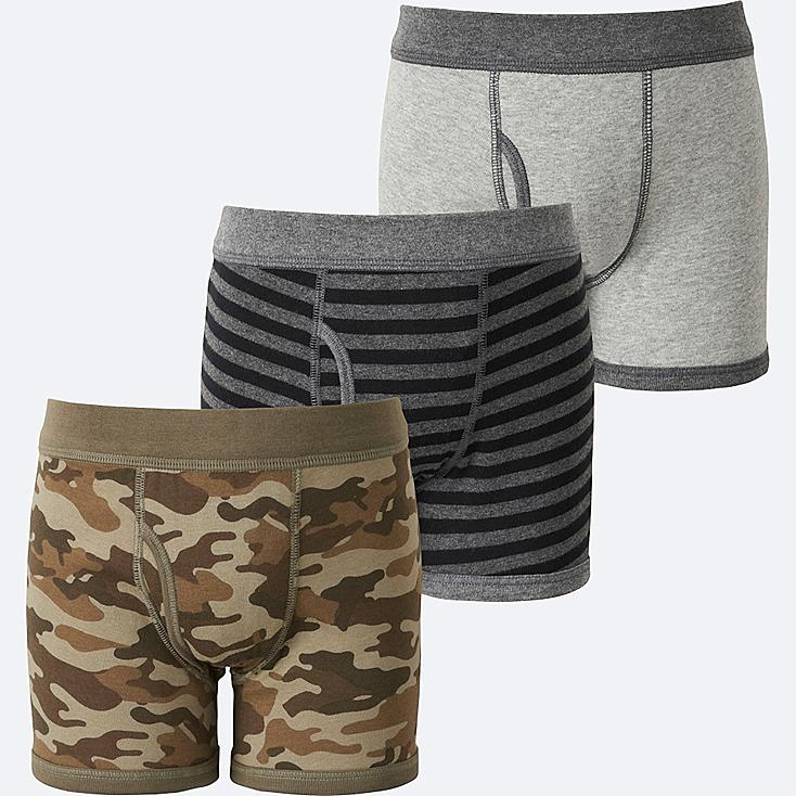 BOYS BOXER BRIEF 3P, OLIVE, large
