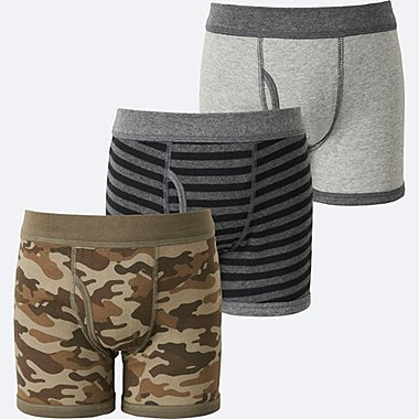 BOYS BOXER BRIEF 3P, OLIVE, medium