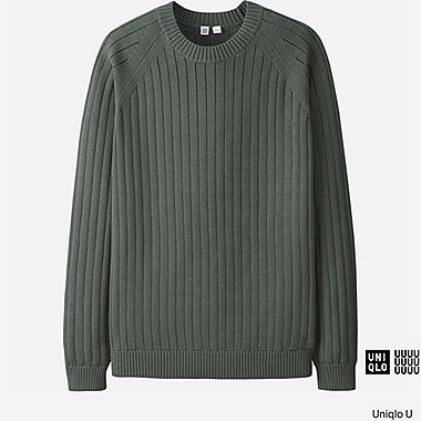 MEN Uniqlo U Supima Cotton Crew Neck Sweater