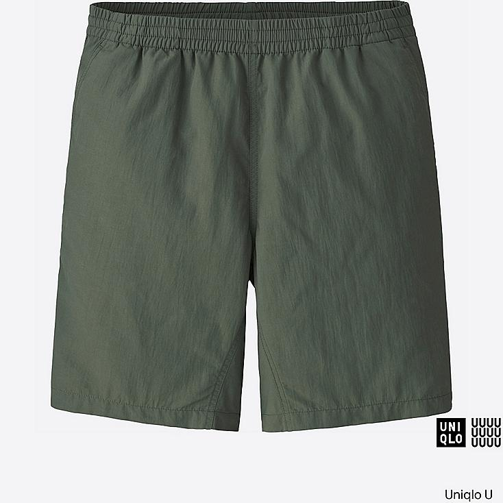 MEN U ACTIVE SHORTS, OLIVE, large