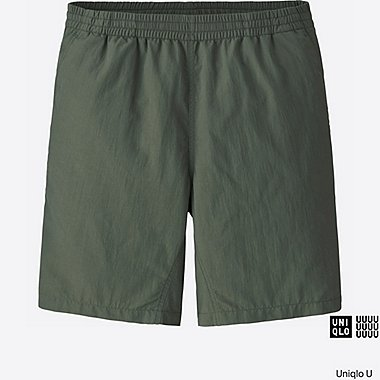 MEN U ACTIVE SHORTS, OLIVE, medium