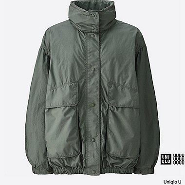 WOMEN Uniqlo U Stand Collar Blouson