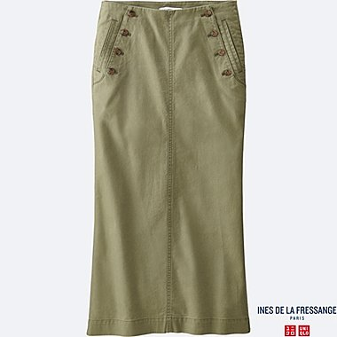 WOMEN INES Slab Chino Sailor Skirt