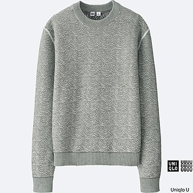 WOMEN Uniqlo U Cotton Crew Neck Sweater