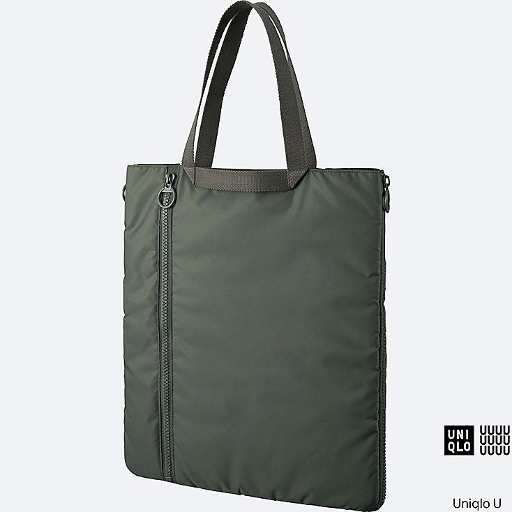 U Tote Bag Olive Large