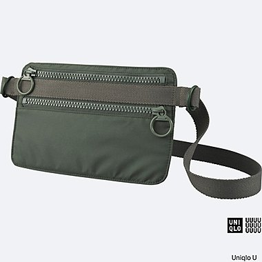 U SHOULDER BAG, OLIVE, medium