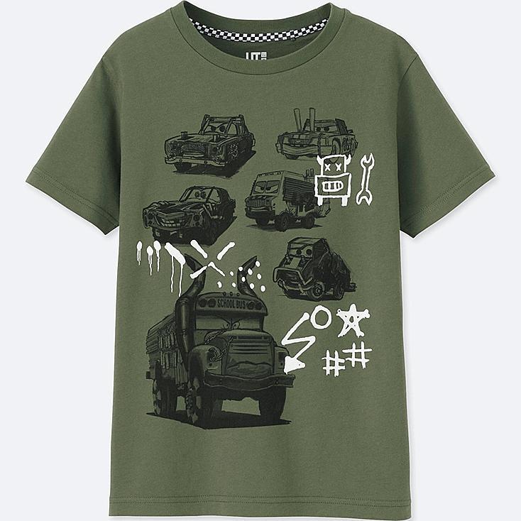 Camiseta Cars 3 Manga Corta NIÑO