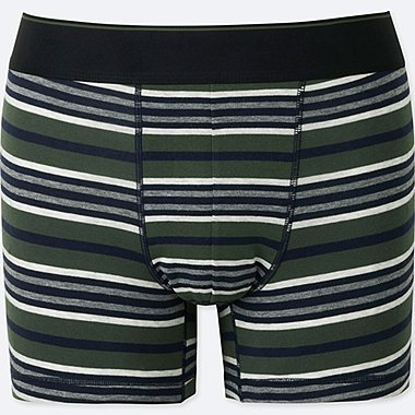 MEN SUPIMA COTTON LOW-RISE BOXER BRIEFS, OLIVE, medium