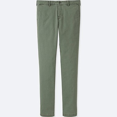 "PANTALON CHINO ULTRA STRETCH SKINNY FIT HOMME (34"")"