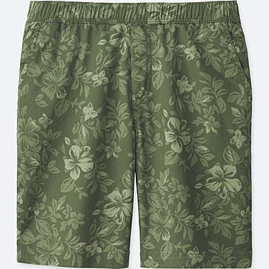 MEN DRY STRETCH EASY SHORTS, OLIVE, medium