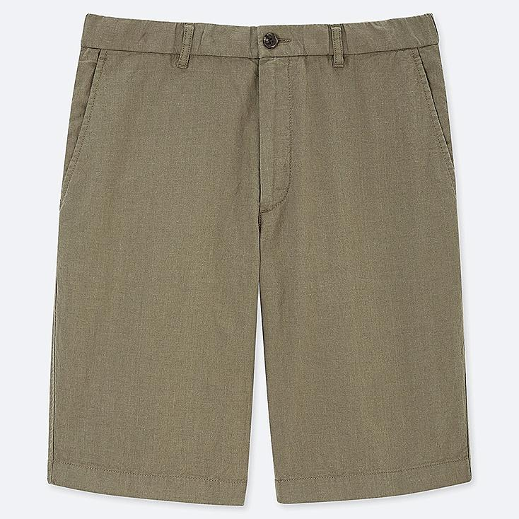 3f461dfaea5e3 MEN LINEN BLEND SHORTS