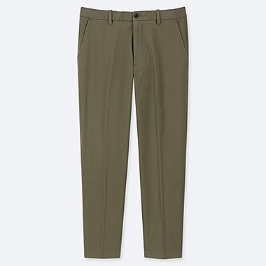 MEN EZY COTTON ANKLE TROUSERS