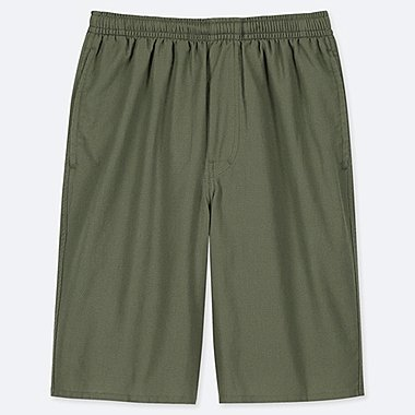 MEN EASY LIGHT DOBBY COTTON SHORTS