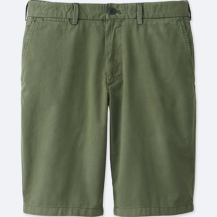 Men's Chino Shorts, OLIVE, large