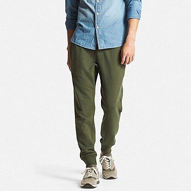 Mens Sweatpants, OLIVE, medium