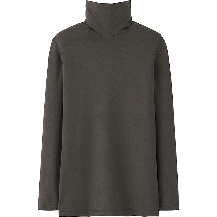 Women heattech turtleneck t shirt uniqlo us for Turtleneck under t shirt