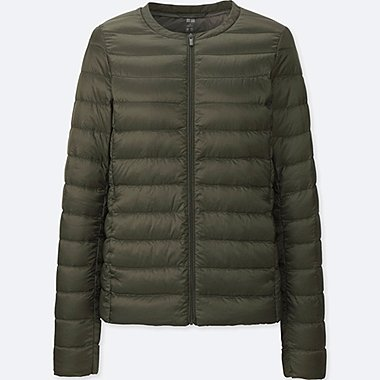 WOMEN ULTRA LIGHT DOWN COMPACT JACKET, OLIVE, medium