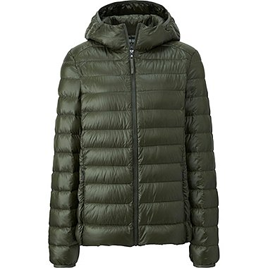 WOMEN ULTRA LIGHT DOWN PARKA, OLIVE, medium