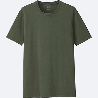 MEN Supima Cotton Crew Neck Short Sleeve Tee