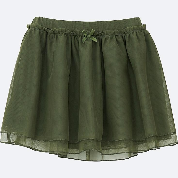 TODDLER TULLE SKIRT, OLIVE, large