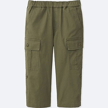 BOYS 3/4 CARGO PANTS, OLIVE, medium