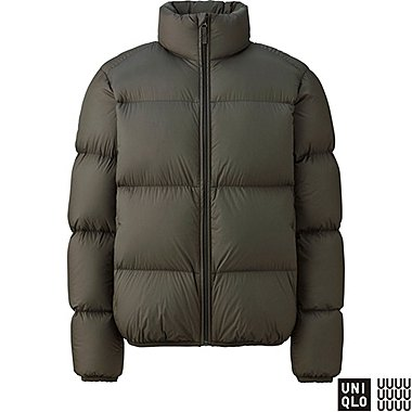 MEN U LIGHTWEIGHT DOWN JACKET, OLIVE, medium