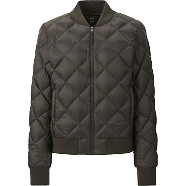DAMEN Ultra Light Down Bomber Jacke