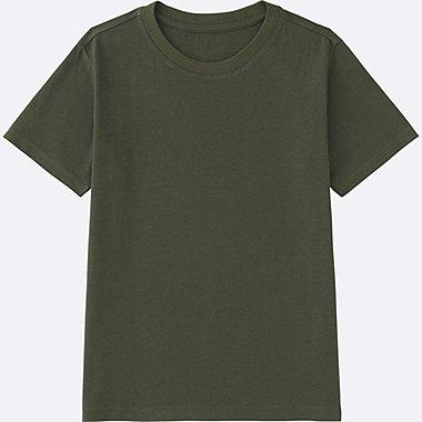 KIDS Colour Crew Neck Short Sleeve T-Shirt