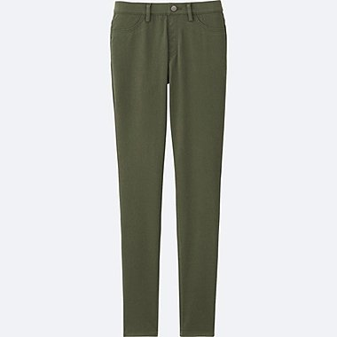 LEGGINGS PANTS, OLIVE, medium